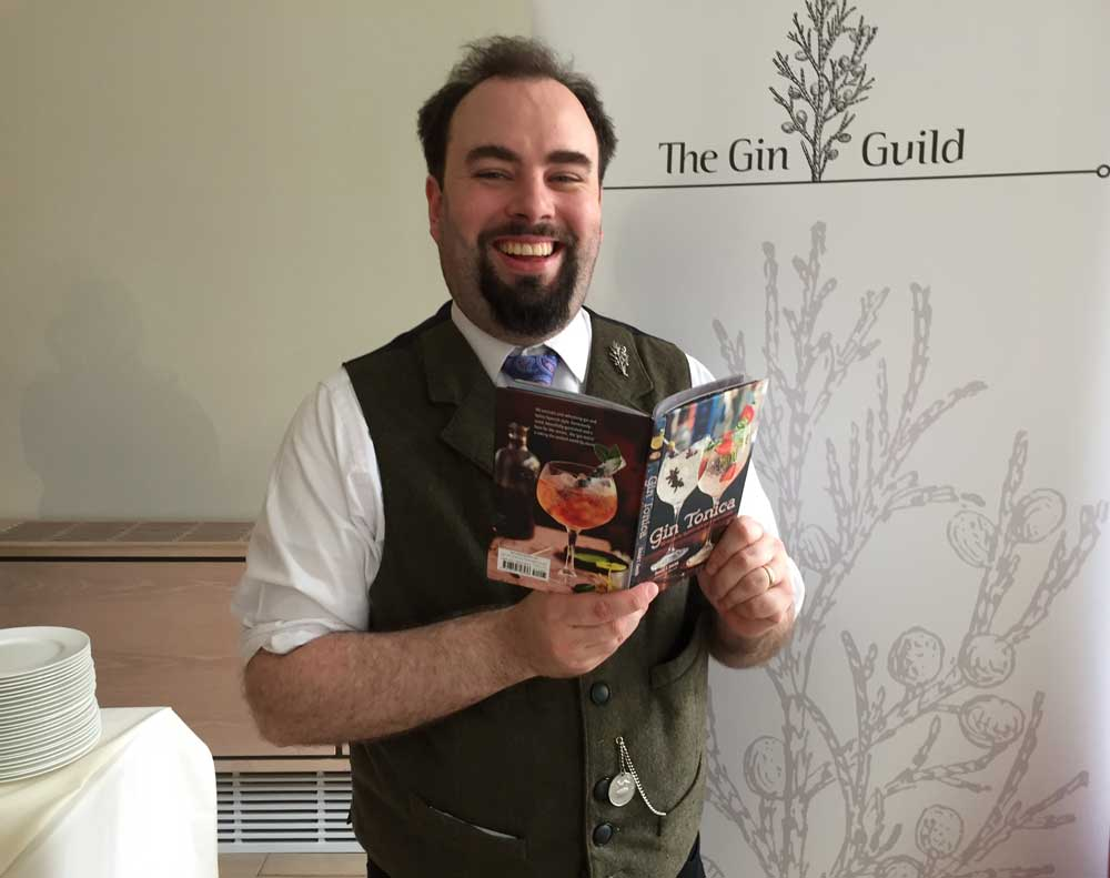 David T Smith with his new book Gin Tonica